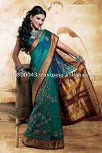 Silk Embroidery designer Saree