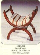 Stool King B Mahogany Indoor Furniture