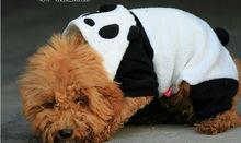 transform Panda 4-leg hooded dog coat