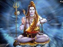 Hindu god Lord Vishnu painting