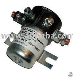 MZJ-200D solenoids/Contactors 24 Volts, 36 Volts & 48 Volts 72volts 200A, ezgo club car 36 Volts / 48V Solenoid 200A