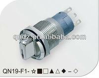 QN19-F1 19MM engine start stop button