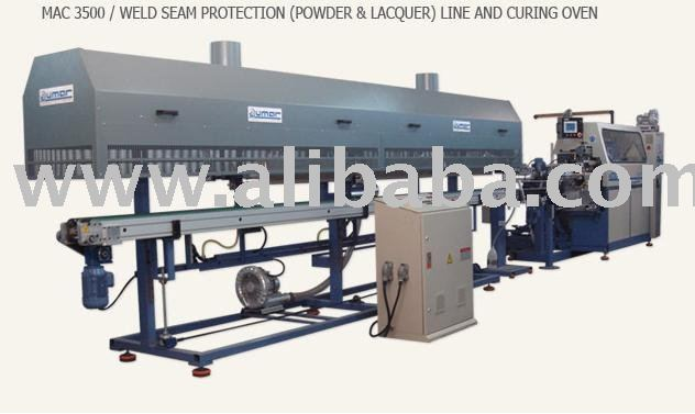 Seam Protection(Powder&Lacquer) System and Curing Oven