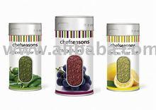 salt canister, seasoning canister, flavor pot, pepper shaker, spice jar