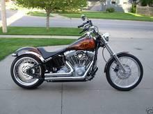 2005 Harley-Davidson Softail motorcycle