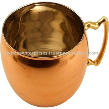 MOSCOW MULE ODI COPPER BRASS BEER MUG