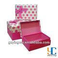 baratos de boda de lujo de papel caja de regalo