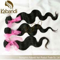 Factory 100% Long Human Hair Drawstring Ponytail