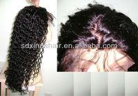 Deep Curly silk cap full lace wig