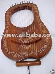 IPC- 10 Strings RoseWood Lyra Harp