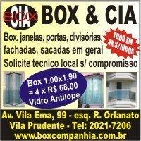 box para banheiro, vidro temperado, espelhos, sacada, tampo de mesa, portas , janelas, guarda corpo , fachadas , bisote