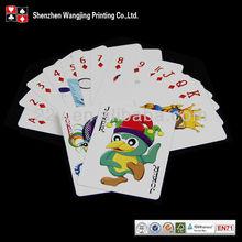 cartoon card design, cartoon playing card design