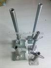 scaffolding hollow screw jack with swivel base plate