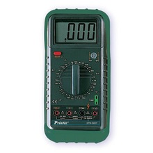 3 1/2 Digital Multimeter w/Temperature Pro'skit 3PK-600T