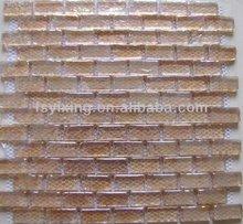 newest design brick decorative decorative glass floor tiles for inner (YX-RM03)