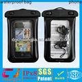 Viagem caixa transparente saco seco impermeável para iphone plástico