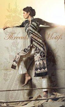 threads and motifs black