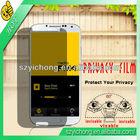 Good quality black privacy screen protector samsung galaxy s4 i9500