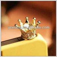 Imperial crown 3.5mm Dustproof Plug Anti-Dust Ear Cap Plug for iPhone5/iPhone 4S/Samsung S4/S3