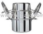PERFECTCHEF STOCK POT &amp; STEAMER