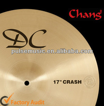 Hot Sale Musical Instruments Chang Cymbals DC Series Crash for Drum set