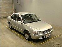 TOYOTA Corolla XE Super Saloon 1999 AE110 Silver