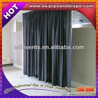 ESI flame retardant velvet fabric for wedding decoration draping support