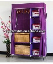 home useful fashion wardrobe / nonwoven fabric cabinet/toy storage wardrobe