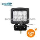 Factory LED Working Spotlight for 4X4 Construction Crane Mining Vehicles SM6601