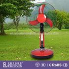16 inch rechargeable fan/rechargeable electric fan with solar light/wall ceiling fan RF-1603