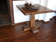 Rustic oak furniture