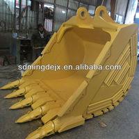 Excavator standard, heavy duty, rock bucket for Komatsu/Volvo/Hitachi/Doosan/Kobelco/JCB e