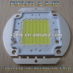 led chip manufacture,Excellent quality 120lm/w Epileds Epistar 45mil taiwan genesis 70w led chip on board with CE&RoHS