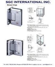 Hardware for glass door