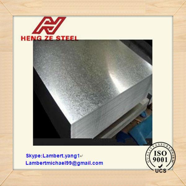 acier galvanisé tôle prix par tonne pour les toits murs matériaux de construction et la décoration