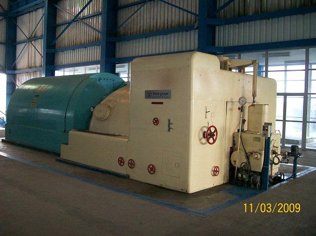 25 MW de vapor generador de turbina de ( usado )
