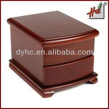 Wooden pretty drawer storage box for cosmetic HCDB22