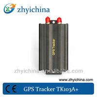 Dual SIM Card Dual Fule sensor gps gprs vehicle tracker TK103A+ gps tracker long life battery