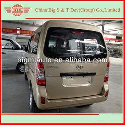 4x2 drive 8 seats passenger gasoline mini van