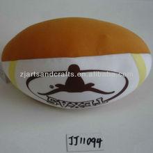 Microbeads stuffing cushion football cushion