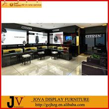 Fashion watch display free design support showroom design