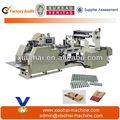 Máquina de coser para bolsas de papel blancas impresas