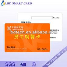 SIEMENS 13.56Mhz SLE66R35 86*54mm PVC RFID Hotel Smart Key Card 11 years experience