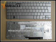 Laptop mini external keyboards For hp laptop Mini 2133 2140 silver