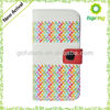 Colorful Wallet Case Cover for iphone 4