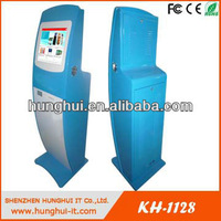 LCD Kiosk Pc/ Multi-functional Self Service Touch PC Kiosk With A4 Printer