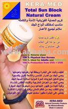 KERA-MED Total Sun Block 100% Natural Cream