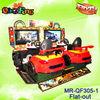 Crazy arcade street racing car game machine (Flat -out)