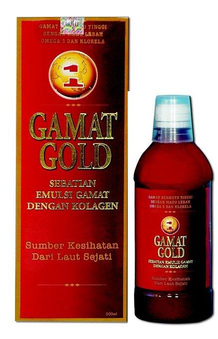 GAMAT GOLD EMULSION Plus COLLAGEN