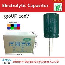 Electrolytic capacitors 330uf 200v,general purpose radial electrolytic capacitors